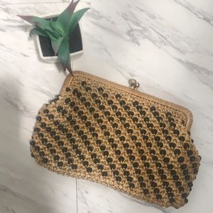 70s Beaded Clutch Purse